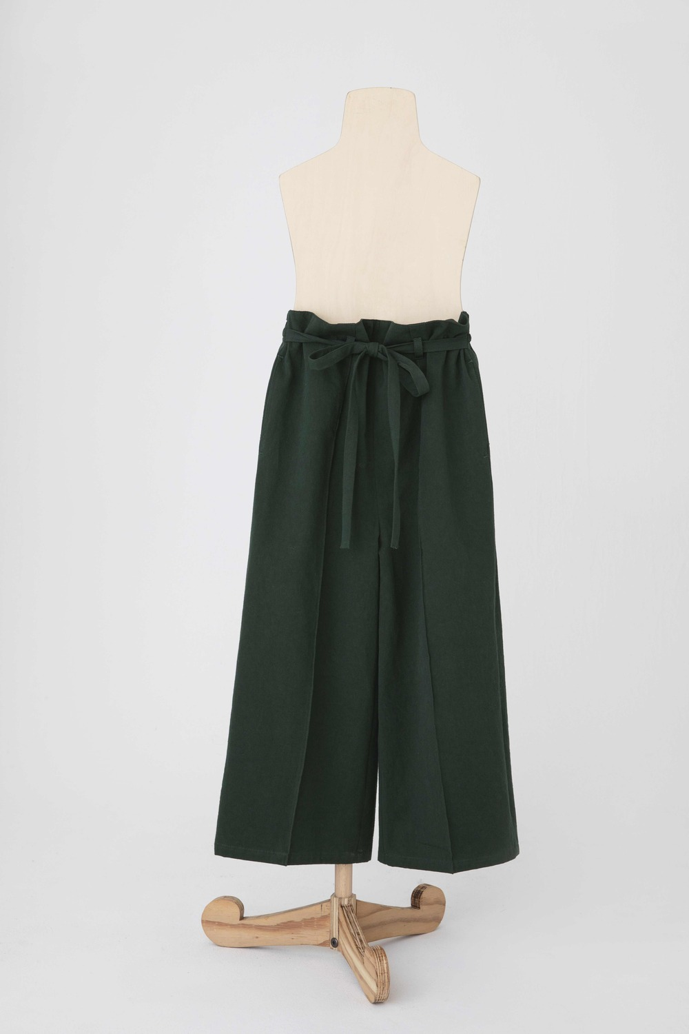 antique burberry pants /forest green1